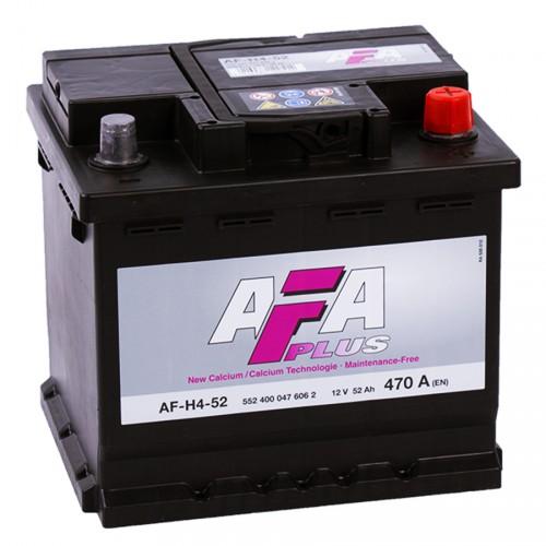 Аккумулятор AFA Plus 52 ач оп