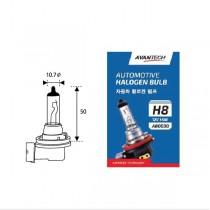 Лампа головного света H8 Avantech (12V 35W)