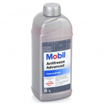 Антифриз Красный Mobil Antifreeze Advanced 1л (Концентрат)