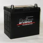 Аккумулятор Delkor 55 ач оп 70B24LS толстые клеммы