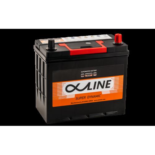 Аккумулятор AlphAline Super Dymanic 55 ач оп 70B24LS толстые клеммы