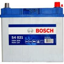 Аккумулятор Bosch Silver 45 ач оп толст.кл. (S4 021) 545156033