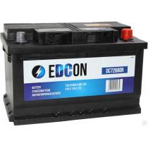 Аккумулятор Edcon 72 ач оп низкий