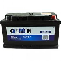 Аккумулятор Edcon 80 ач оп низкий