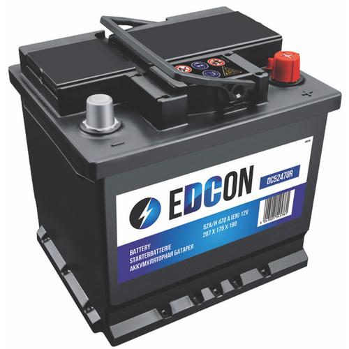 Аккумулятор EDCON 52 ач оп