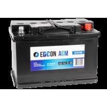 Аккумулятор EDCON AGM Start Stop 70 ач оп