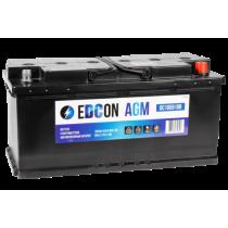 Аккумулятор EDCON AGM Start Stop 105 ач оп