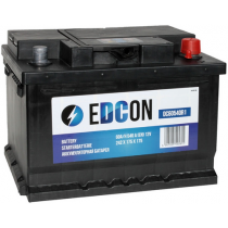 Аккумулятор Edcon 60 ач оп низкий