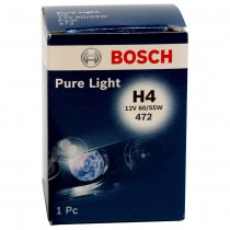 Лампа головного света H4 Bosch Pure Light (12V 60/55W)