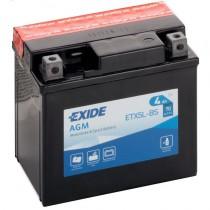 Аккумулятор Exide мото 4 ач ETX5L-BS