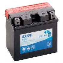 Аккумулятор Exide мото 6 ач ETZ7-BS