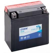Аккумулятор Exide мото 9 ач ETX9C-BS
