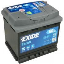 Аккумулятор Exide Excell 50 ач пп (EB501)