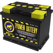 Аккумулятор Tyumen Battery Standard (Тюмень) 62 ач оп