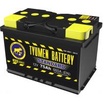 Аккумулятор Tyumen Battery Standard (Тюмень) 75 ач оп