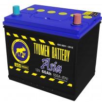 Аккумулятор Tyumen Battery Standard Asia (Тюмень) 60 ач оп