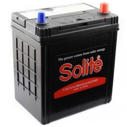 Аккумулятор Solite 44 ач оп тонк.кл. (44B19L)