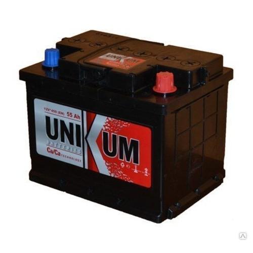 Аккумулятор Unikum 55 ач пп