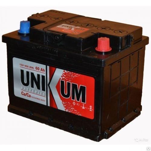 Аккумулятор Unikum 60 ач пп
