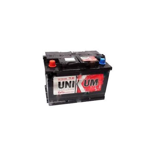 Аккумулятор Unikum 75 ач оп