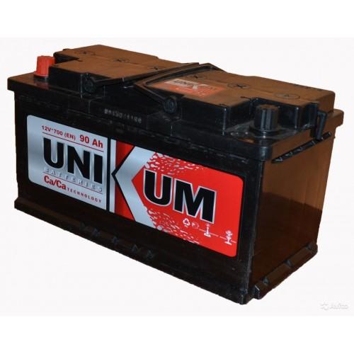 Аккумулятор Unikum 90 ач пп