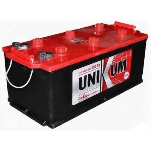 Аккумулятор Unikum 190 ач пп конус