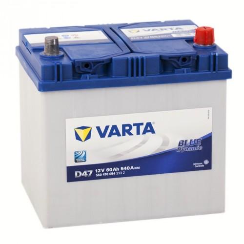Аккумулятор Varta Blue Dynamic 60 ач пп Asia (D48 560411054)
