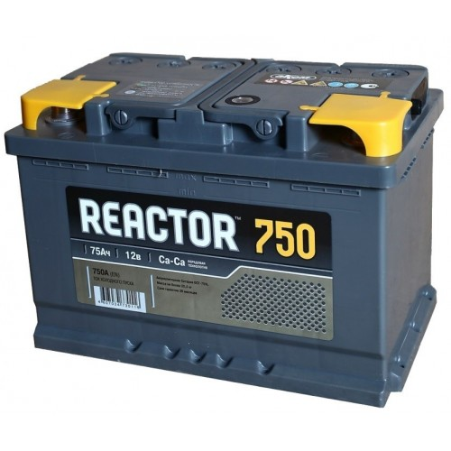 Аккумулятор Аком Реактор 75 ач оп