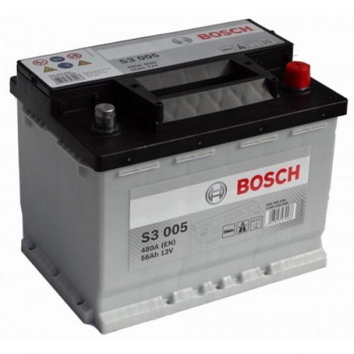 Аккумулятор Bosch 56 ач пп (S3 006) 556401048