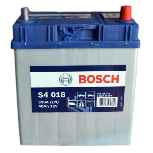 Аккумулятор Bosch Silver 40 ач оп (S4 018) 540126033