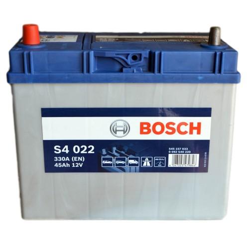 Аккумулятор Bosch Silver 45 ач оп (S4 020) 545155033