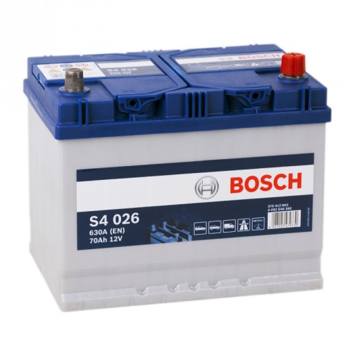 Аккумулятор Bosch Silver 70 ач оп (S4 026) 570412063