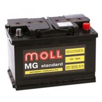 Moll MG Standard 75 ач оп низкий