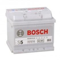 Bosch Silver Plus 52 ач оп низкий (S5 001)