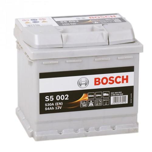 Аккумулятор Bosch Silver Plus 54 ач оп (S5 002) 554400053