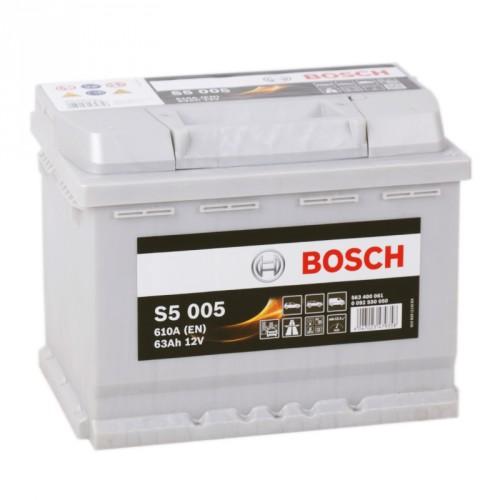Аккумулятор Bosch Silver Plus 63 ач оп (S5 005) 563400061