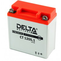 Delta мото 5 ач (CT 1205.1 AGM)