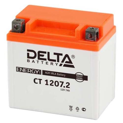 Аккумулятор Delta мото 7 ач (CT 1207.2 AGM)