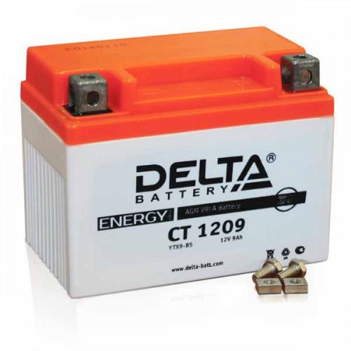 Аккумулятор Delta мото 9 ач (CT 1209 AGM)