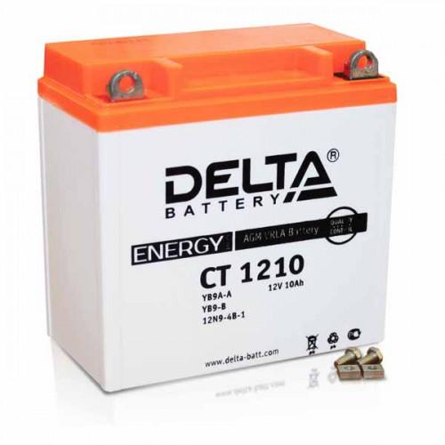 Аккумулятор Delta мото 10 ач (CT 1210 AGM)