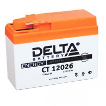 Delta мото 2,5 ач (CT 12026 AGM)
