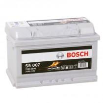 Bosch Silver Plus 74 ач оп низкий (S5 007)