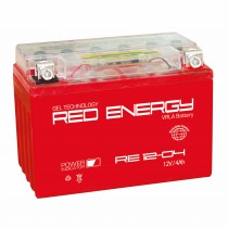 Red Energy мото 4 ач (RE 1204 AGM)