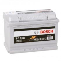 Bosch Silver Plus 77 ач оп (S5 008)