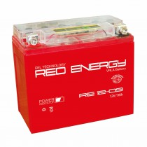 Red Energy мото 9 ач (RE 1209 AGM)
