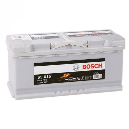Аккумулятор Bosch Silver Plus 110 ач оп (S5 015) 610402092