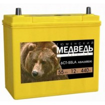 Тюменский Медведь Азия 55 ач оп 65B24L тонк.кл.