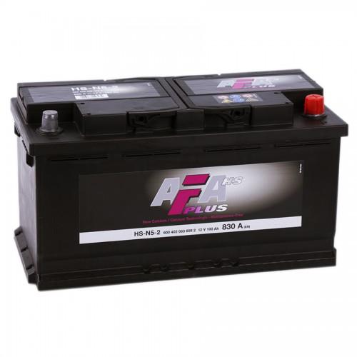 Аккумулятор AFA Plus HS 100 ач оп