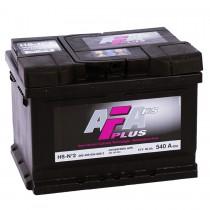 AFA Plus HS 60 ач оп низкий