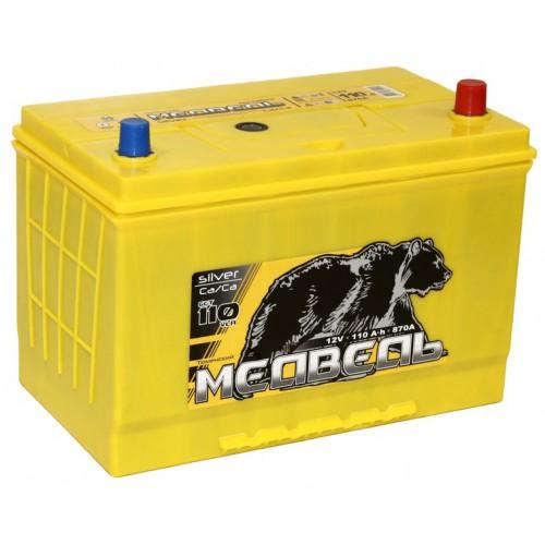 Аккумулятор Тюменский Медведь Азия 110 ач оп (Ca/Ca)